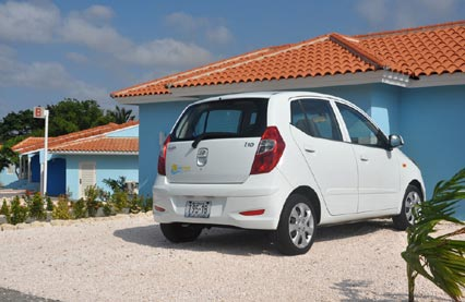 Mietwagen auf Curacao in Kombination mit Luxus-lodge